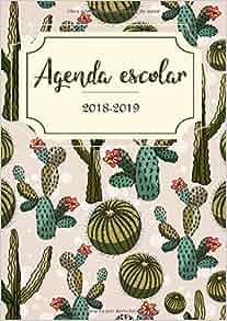 Amazon.com: Agenda Escolar 2018-2019: El calendario ...