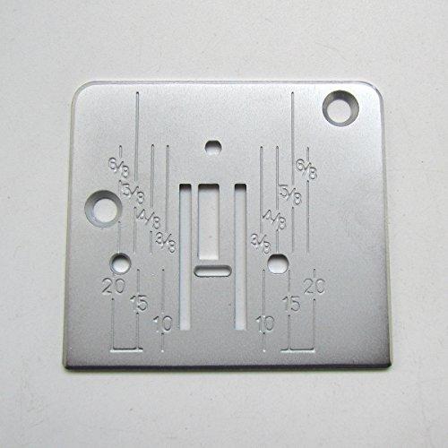 KUNPENG -1 PCS #744004001or 98-739008-00 Needle Plate for Janome New Home,Kenmore,Babylock,Elna,Necchi, Pfaff,Husqvarna Viking Zig Zag Sewing