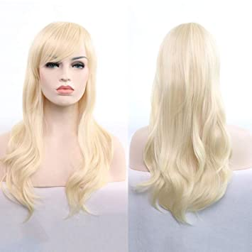 later hot products attractive price Amazon.com : Women's Long Big Wavy Hair Wigs 28Inch ...