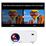 Touyinger Home Mini Multimedia LED HD Video Projector For Home Entertainment