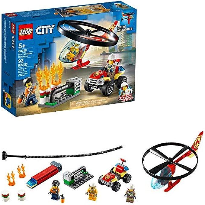 (new 2020)  מסוק כיבוי אש 60248 LEGO City