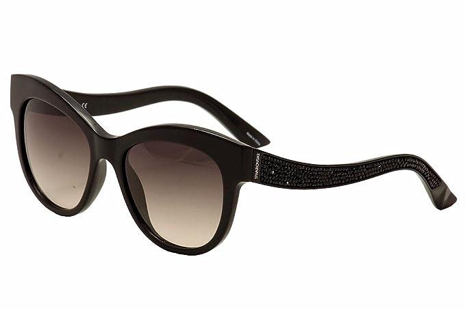 Gafas de sol Swarovski SK0110 C54 01B (shiny black ...