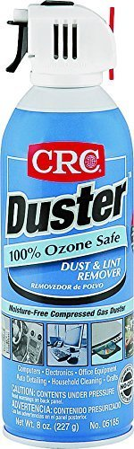 CRC Duster Moisture-Free Dust and Lint Remover, 8 Oz, Pack of 12 Cans by CRC
