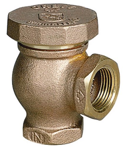 Hose Vacuum Breaker - Orbit Sprinkler System 3/4-Inch Brass Atmospheric Vacuum Breaker 51059