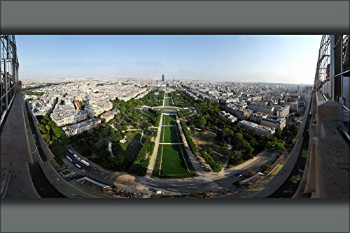 20x30 Poster; View From Eiffel Tower 2Nd Level 2009
