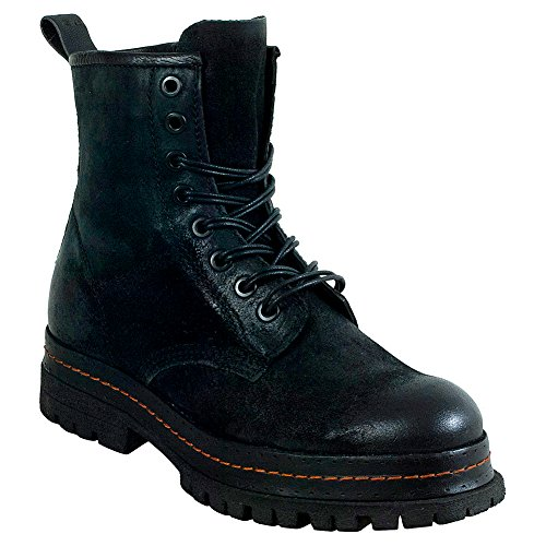 As98 Lennie Womens Lace Up Boot Noir