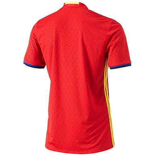 Della Rosso Spagna Home Calcio Replica Di 2016 Da Maglia Nazionale Adidas Jsy H Fef giallo 2015 blu Uomo 4ZqYf