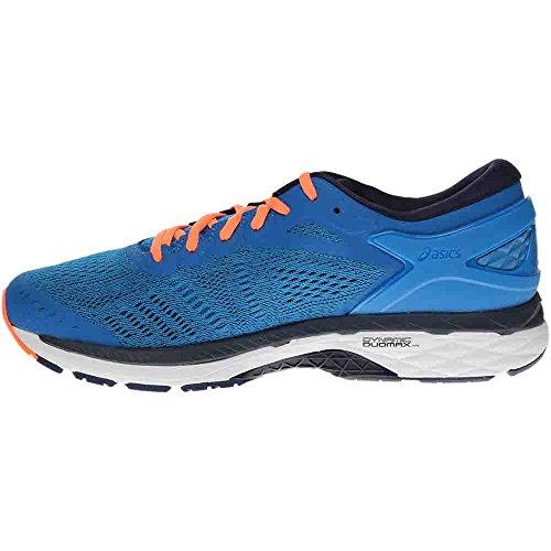 ASICS Men's Gel-Kayano 24 Running Shoe, Directoire Blue/Peacoat/Hot Orange, 12 Medium US by ASICS (Image #3)