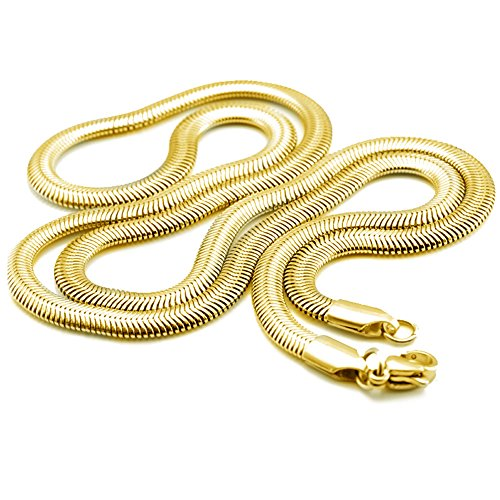 6mm-gold-bohg-jewelry-mens-biker-fashion-stainless-steel-link-necklace-snake-chain-23-inch