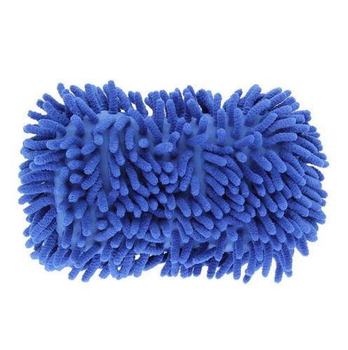 PeachFYE 2pcs Car Wash Gloves Car Cleaning Sponge Car Window Cleaning Ultrafine Fiber Chenille Anthozoan Washer Sponge Brushes