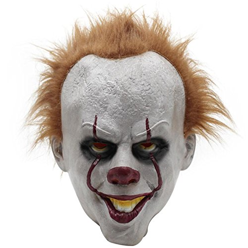 Extremely Scary Halloween Costumes (Halloween Mask Scary Adults King Novelty Full Head Mask)