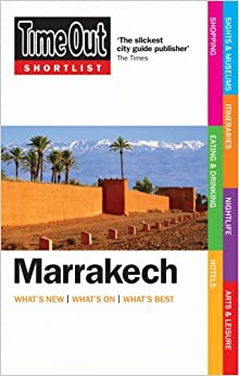 Book Time Out Shortlist Marrakech - 1st edition