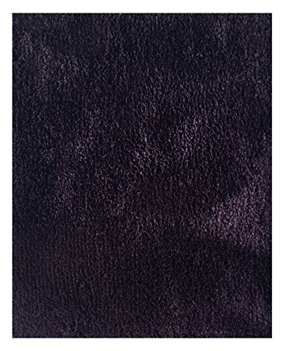 Mohawk Home Cut to Fit Royal Velvet Plush Bath Carpet, Midnight Purple, 6 10 Feet