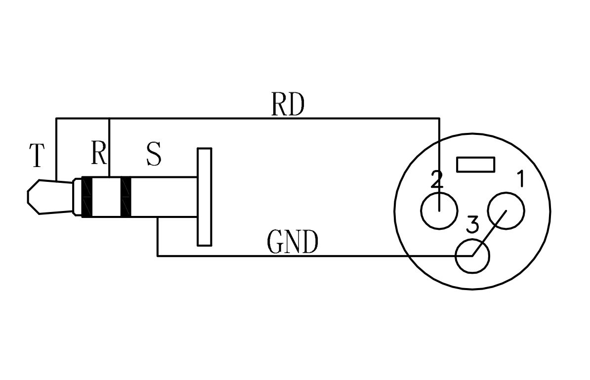 wiring 1 4 jack connectors diagram