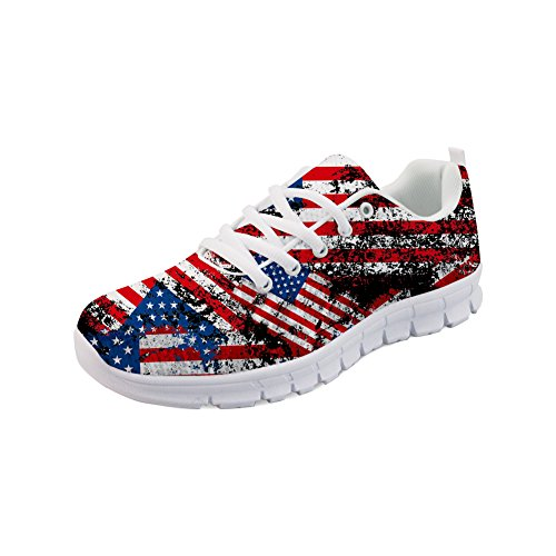 Showudesigns Fashion Platform Sneaker Women's Sport Running Shoes UK Size 2-8 Color 1 YS5Tt1kOUt