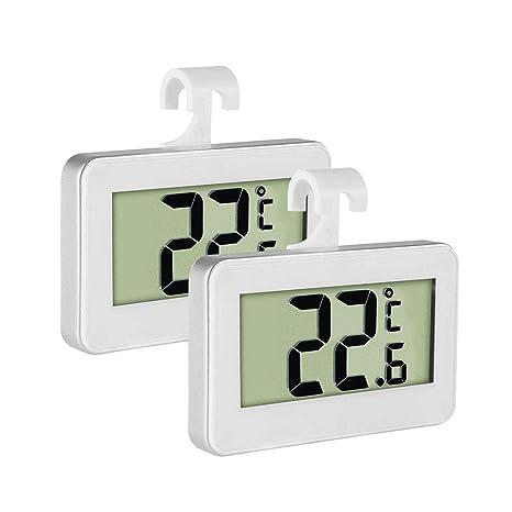 Termómetro digital para frigorífico, termómetro para refrigerador ...