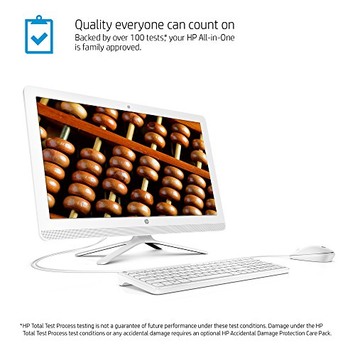"HP V8N99AA#ABA Pavilion 23.8"" All-In-One Intel Pentium 8GB Memory 1TB Hard Drive finish in snow white"