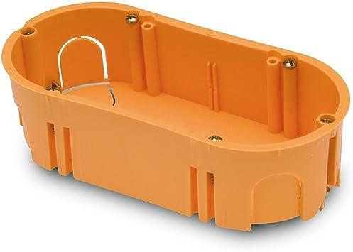 FAMATEL 3256 - Caja empotrar pladur 67x39 doble: Amazon.es: Bricolaje y herramientas