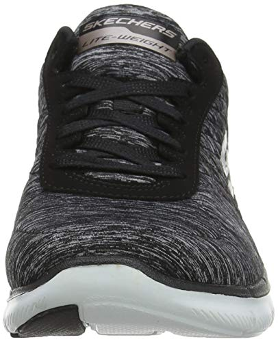Flex Skechers 2 Sneaker Appeal Rose 0 Gold Black Women's AAHqwK5Zz
