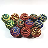 Sky Bounce Multi Color (Rainbow) Tie Dye Handball Set Of 12 (1 Dozen) Balls