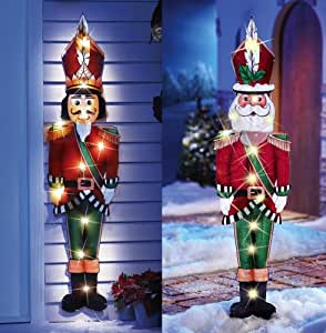 "Amazon.com: KNLSTORE Set of Two 44"" Christmas Decor ... on Backyard Decorations Amazon id=39051"