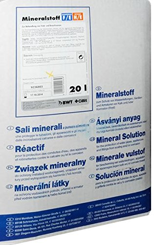 BWT Mineralstoff Cillit -Quantophos/Impulsan 20 l Kanister FE/HE