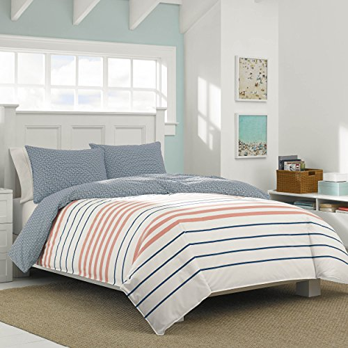 Nautica Comforter Queen Staysail Coral
