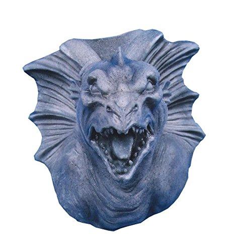 UHC Scary Realistic Gargoyle Hanging Wall Mount Halloween Decoration]()