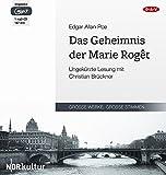 Das Geheimnis der Marie Roget: Ungekürzte Lesung mit Christian Brückner (1 mp3-CD)