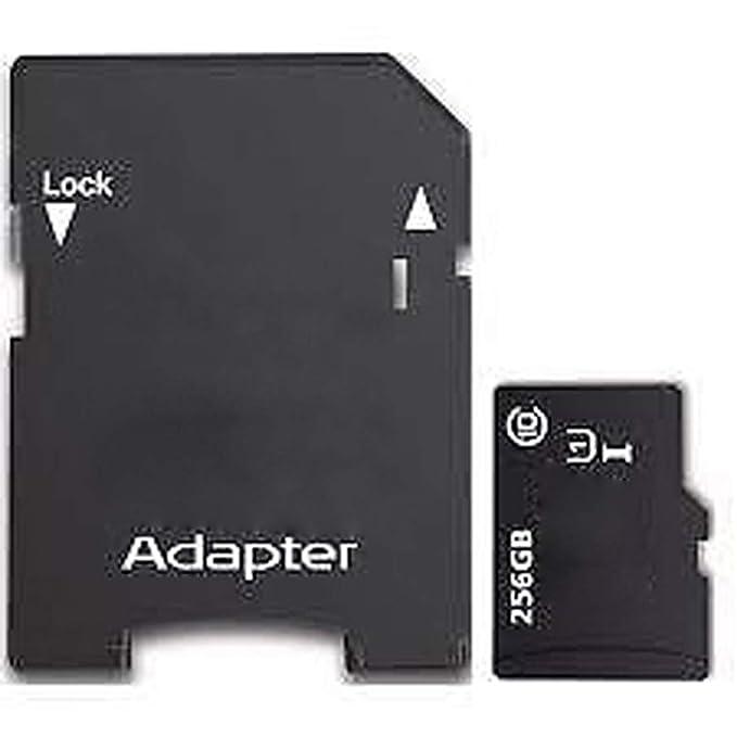 256 GB de memoria Tarjeta TF Tarjeta SD Mini tarjeta de memoria SD clase 10 con adaptador SD gratuito para SmartPhones Tablet PC