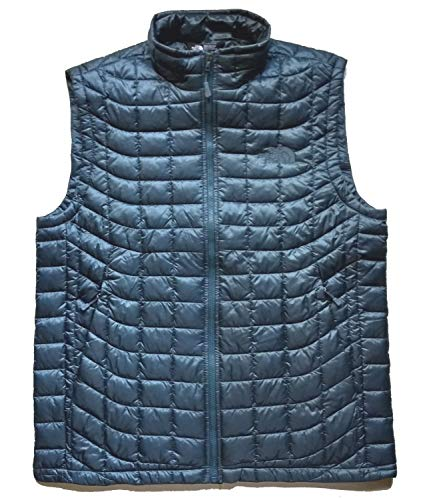 Chest Vest Embroidered Pocket (The North Face Men's Thermoball Insulated Vest (L, Conquer Blue))