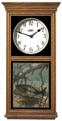 Pick Up Bass Regulator Clock by Mark A ()