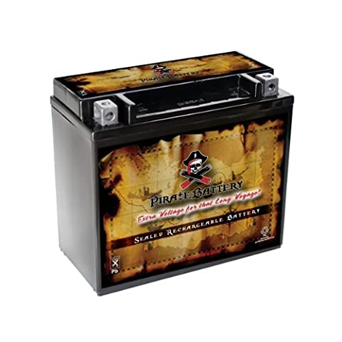 YTX20L-BS High Performance Power Sports Battery - 2007 Harley Davidson Heritage Softail