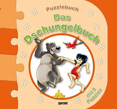 Puzzlebuch Dschungelbuch