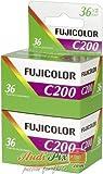 FujiFilm Fujicolor C200 35 mm 36 Exposure Colour Print Camera Film Twin Pack