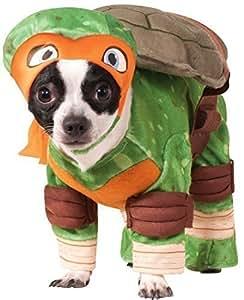 Amazon.com: Disfraz de perro y gato Michaelangelo, diseño de ...