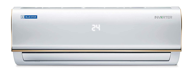 Blue Star 0.8 Ton 3 Star Inverter Split AC (Copper, 2020 Model, IC309RBTU, White)