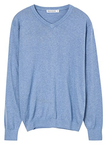 meters-bonwe-mens-casual-v-neck-long-sleeve-solid-color-sweater-light-blue-xl