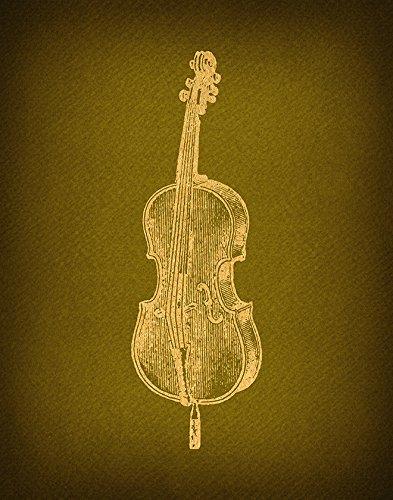 Amazon.com: Vintage Violin Print Antique Violin Wall Art & Home ...