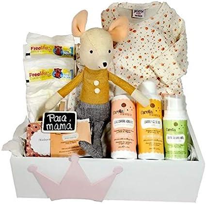 Caja bebe ecologica recién nacido Ratón: Amazon.es: Bebé