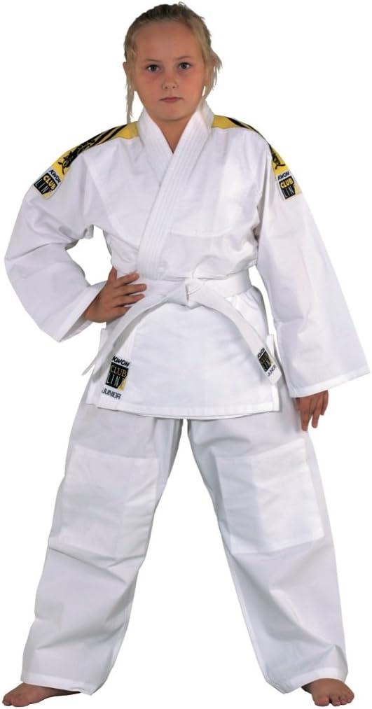 KWON Judo Kimono Junior avec Rayure /à l/épaule de Blanc 551302 Taille 100-190