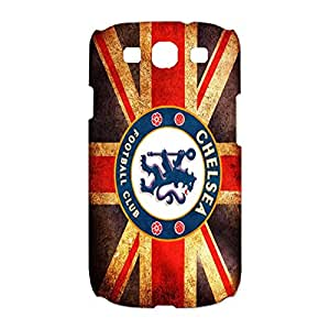 Fa Premier League Chelsea FC Phone Case Red Skin Cover Novely Pattern Fashion 3D Print Cover Back for Samsung Galaxy S3 I9300