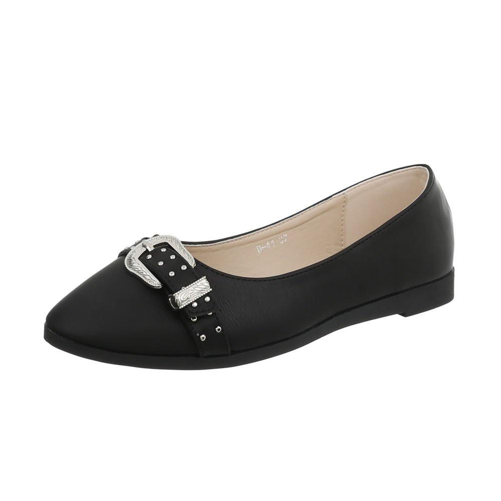 Ital-Design Chaussures Plat Femme Mocassins Plat Slippers 20000 Noir B000W069PS D-41 4cba07d - reprogrammed.space