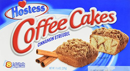 (Hostess Coffee Cakes Cinnamon Streusel - 8 pieces/1pack)