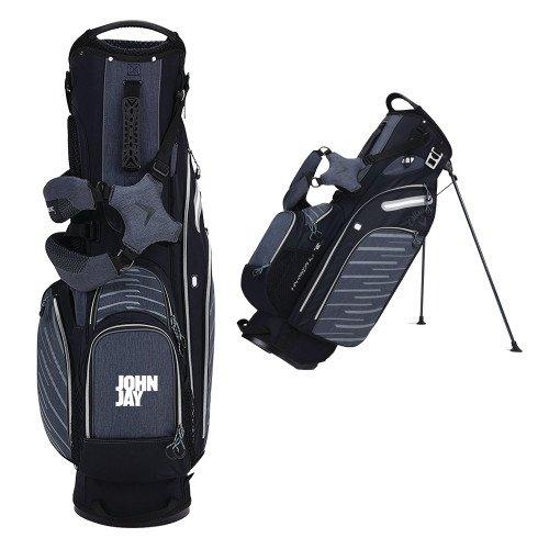 John Jay College Callaway Hyper Lite 5 Black Stand Bag 'Official Logo' by CollegeFanGear