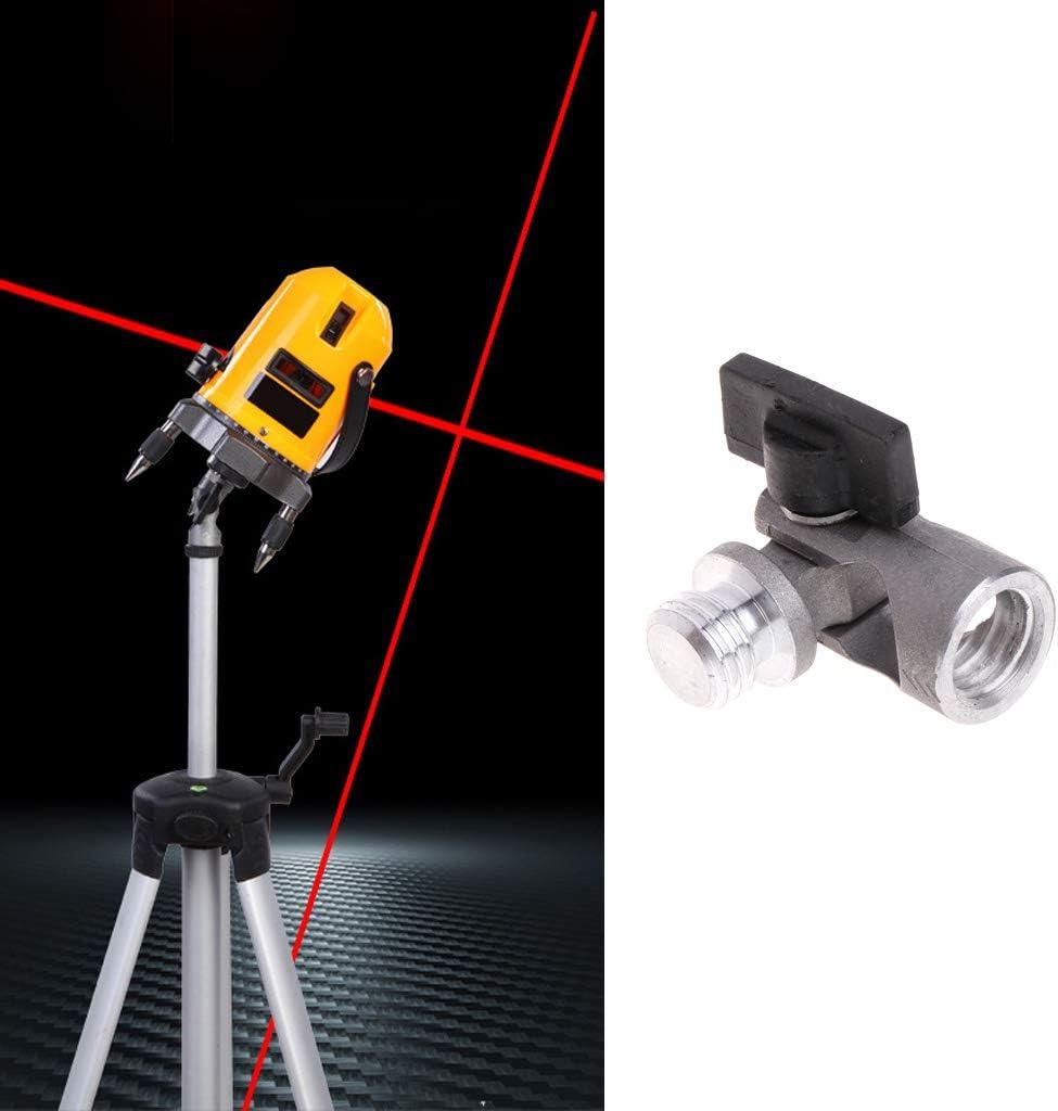 Qianqian56 5//8 Inch Angle Tripod Rotary La-ser Levels Dual Slope Adjustment Bracket Rod
