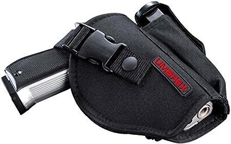 Umarex - Cartuchera para pistolas de tamaño medio/grande con bolsillo para cargador