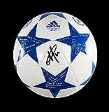 Eden Hazard Autographed Chelsea UEFA Champions League Ball - Certified Authentic Soccer Signature