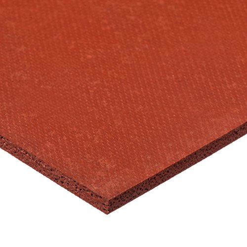 - USA Sealing - Silicone Foam Sheet with High Temp Adhesive - 1/8