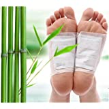 Inditradition Foot Detox Cleansing Pads (Pack of 10) - Foot Crack Repair and Cleansing (White)